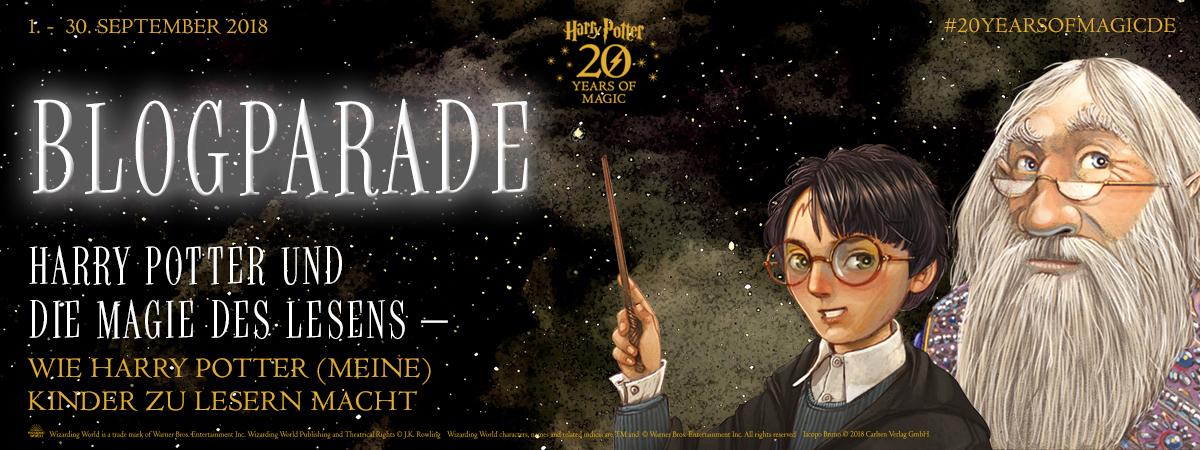 wie Harry Potter mich zum lesen brachte - 3-fach Jungsmami