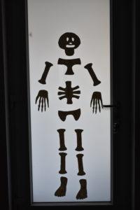 Knochengeist zu Halloween