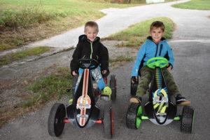Hauck Toys Go-Kart Test