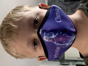 Wanapix Kindermaske Fortnite